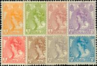 Netherlands - NVPH 56-63 - Unused