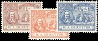 Netherlands 1907 - NVPH 87-89 - Unused