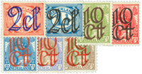 Netherlands 1923 - NVPH 114-120 - Unused