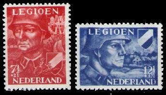 Holland 1942 - NVPH 402-403 - Postfrisk