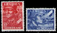 Netherlands 1942 - NVPH 402-403 - Mint