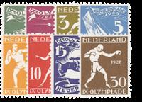Netherlands 1928 - NVPH 212-219 - Mint