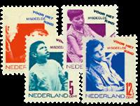Netherlands 1931 - NVPH 240-243 - Mint