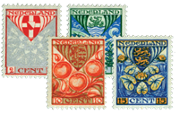 Netherlands 1926 - NVPH 199-202 - Mint