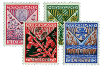 Netherlands 1927 - NVPH 208-211 - Mint