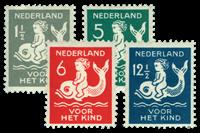 Netherlands 1929 - NVPH 225-28 - Mint