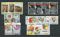 Aruba - jaargang 1988 (nr.37-53,postfris)