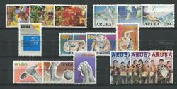Aruba - jaargang 1989 (nr.54-69,postfris)
