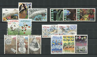 Aruba - jaargang 1990 (nr.70-85, postfris)