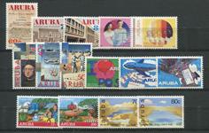 Aruba - År 1992 (nr.103-117,postfrisk)