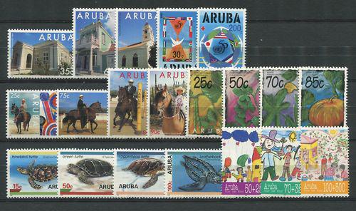 Aruba - År 1995 (nr.151-170,postfrisk)