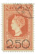 Netherlands 1920 - NVPH105 - Cancelled