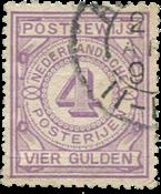 Hollanti - NVPH PW5 - Leimattu