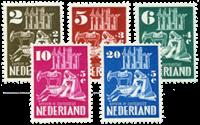 Netherlands 1950 - NVPH 556-560 - Unused