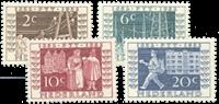 Netherlands 1952 - NVPH 592-595 - Unused