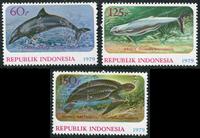 Indonesia - Animals - Mint set 3v