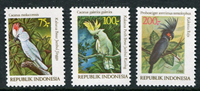 Indonesia - Kakatoes '81 (Zb 1096/98) Postfrisse serie van 3