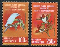 Indonesia - Vogels '82 (Zb 1125/26) Postfrisse serie van 2