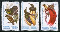 Indonesia - Paradijsvogels '82 (Zb 1131/33) Postfrisse serie v