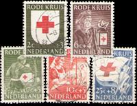Netherlands 1953 - NVPH 607-611 - Cancelled