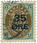 Danmark 1912 - AFA nr.60 - stemplet