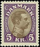 Danmark 1927-28 - AFA nr.176 - Postfrisk
