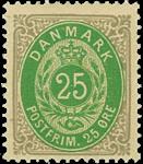 Danmark 1875 - AFA nr.29 - ustemplet