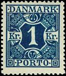 Danmark 1921-25 - AFA nr.15 - ustemplet