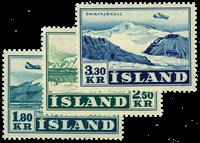 Island 1952 - AFA nr.279-81 - Postfrisk