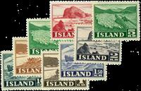 Island 1950 - AFA nr.264-71 - Postfrisk