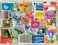 Netherlands - 300 different cancelled stamps