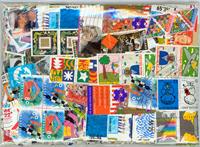 2000 francobolli differenti Olanda