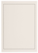Blank album pages A4 - with black borderline - Pack of 40 - Lighthouse