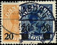Danmark 1926 - AFA nr.152-53 - Stemplet