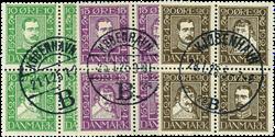 Danmark 1924 - AFA nr.132-43 - Stemplet