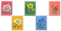 Netherlands 1952 - NVPH 583-587 - Mint
