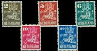 Nederland 1950 - Nr. 556-560 - postfris