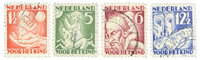 Netherlands - Kinderzegels 1930 - NVPH 232-235 - Cancelled