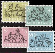 Netherlands - Kinderzegels 1952 - NVPH 596-600 - Cancelled