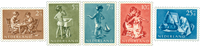 Netherlands 1954 - NVPH 649-653 - Mint