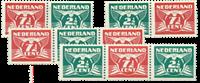 Netherlands 1941  - NVPH 379a-379d - Mint