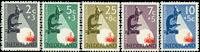 Netherlands 1955 - NVPH 661-665 - Mint