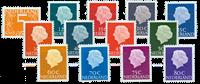 Nederland 1967-1971 - Nr. 465b, 618b-634b - Postfris