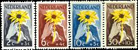 Netherlands 1949 - NVPH 538-541 - Mint