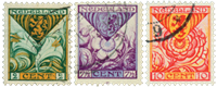 Netherlands 1925 - NVPH 166-168 - Cancelled