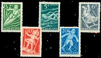 Netherlands 1948 - NVPH 508-512 - Mint