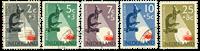 Netherlands 1955 - NVPH 661-665 - Cancelled
