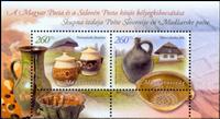 Ungarn - Potter fælles med Slovenien - Postfrisk miniark