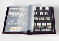 Insteekboek - Zwart - A4 - 64 zwarte bladzijden - ongewatteerde band