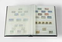 Classeur Leuchtturm BASIC - Bleu - A4 - 64 pages blanches, couverture non ouatinée